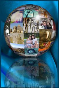 mijn wereld in een bol